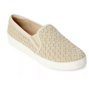 Cole Haan Grandpro Suede Woven Spectator Casual Sneakers Slides Shoes Leather 8